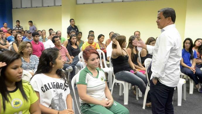 Reunião Amazonas Jogos Escolares (Foto: Mauro Neto/Sejel)