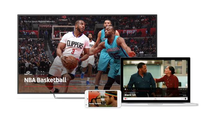 A YouTube TV pode ser assistida de diversos dispositivos (Foto: Reprodução/Google)