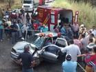 Acidente grave na MG-111 deixa uma vítima fatal e outras quatro feridas