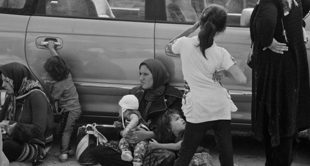 'É muito frustrante ter de enviar famílias para um futuro incerto, já que elas não têm outra opção', diz Stella Chiarelli (Foto: BBC/Stella Chiarelli)