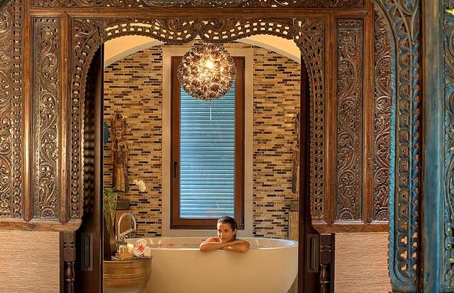 Banheiro luxuoso (Foto: Reprodução)