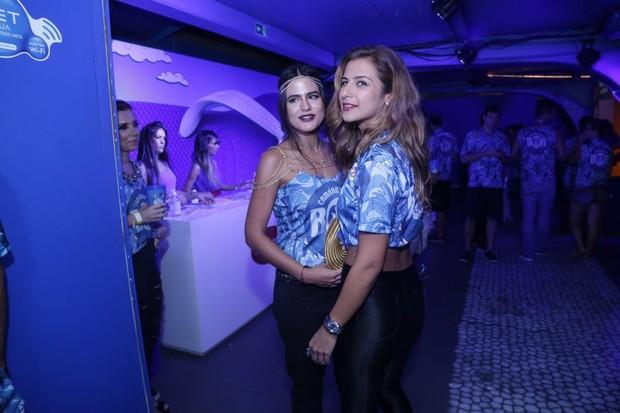 Paula Morais e Antonia (Foto: AgNews/ AgNews)
