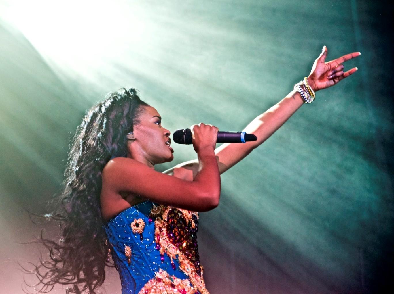 Azealia Banks canta 'Chega de Saudade' de Tom Jobim (Foto: Robert Altman/Invision/AP)