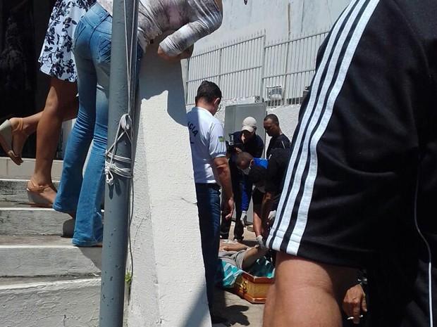 Preso foi morto durante transferência para penitenciária em Floriano (Foto: Flaviana Oliveira)