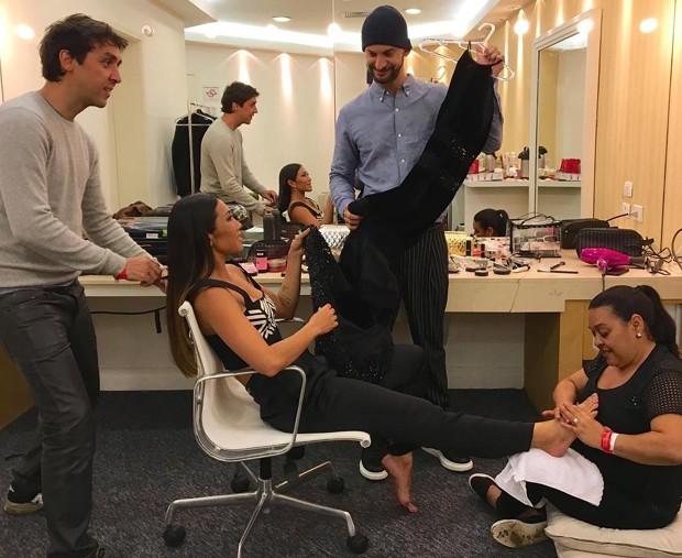 Daniele Suziki: time prepara a atriz para o Miss Brasil (Foto: Reprodução/Instagram)