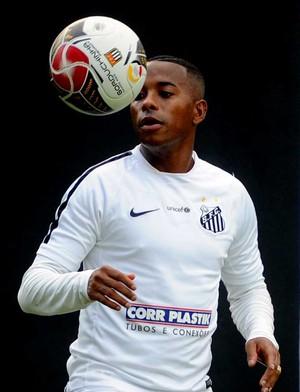 Robinho Santos (Foto: Ivan Storti / Divulgação Santos FC)