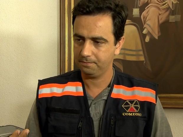 Prefeito de Mariana, Duarte Júnior (Foto: Reprodução/TV Globo)
