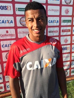 Maguinho - volante América-RN (Foto: Jocaff Souza/GloboEsporte.com)