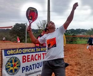 Beach tennis no Parque das Nações Indígenas (Foto: Divulgação/LBTCGMS)