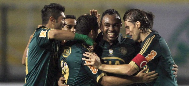 Obina, Palmeiras x Millonarios (Foto: Agência Reuters)