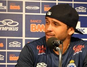 Charles coletiva Cruzeiro (Foto: Fernando Martins / Globoesporte.com)