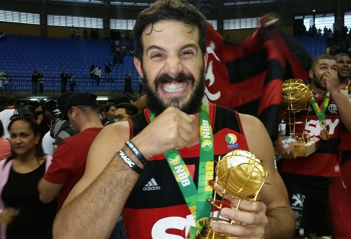 Nico Laprovittola MVP NBB Flamengo final Bauru (Foto: Marcello Pires)