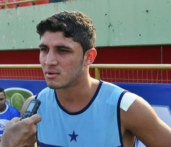 Leandro, volante Atlético-AC (Foto: Duaine Rodrigues)