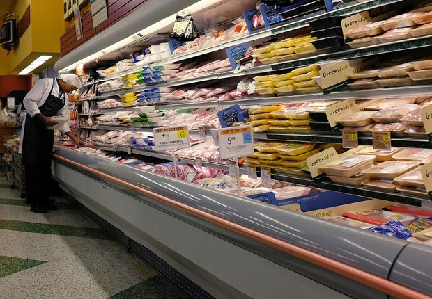 carnes; supermercados; aves (Foto: Joe Raedle/Getty Images)