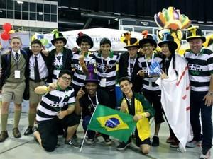 Na África, equipe ficou na 5ª colocação geral entre 40 times (Foto: Divulgação/ Sesi Boituva)