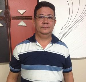 Manuel Figueira, diretor técnico da Federação Amapaense de Futebol (Foto: Wellington Costa/GE-AP)