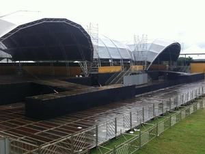 Os artistas vão se revezar em dois palcos em formato de concha posicionados lado a lado (Foto: Daniela Esteves/Divulgação)