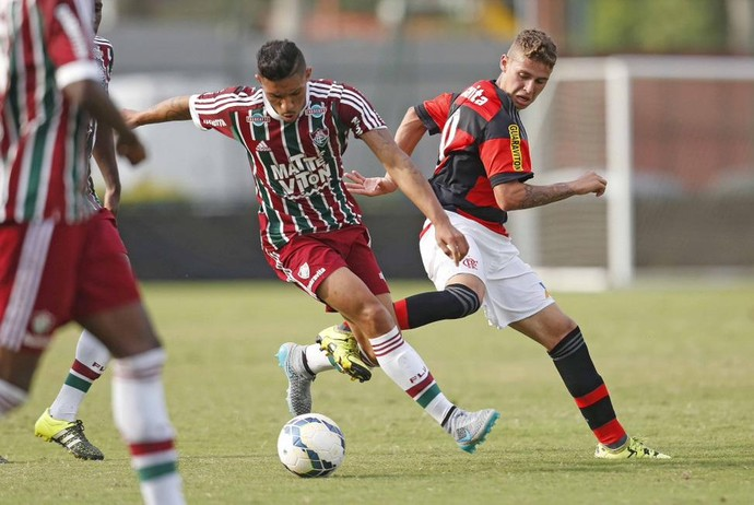 Flamengo Fluminense juniores sub-20 Gávea (Foto: Rafael Ribeiro / CBF)