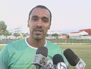 Simônio, técnico do União Cacoalense (Foto: Reprodução/TV Cacoal)