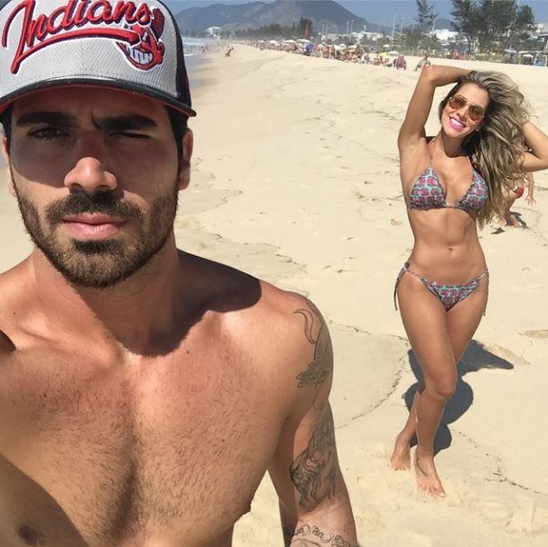 Adriana e Rodrigão, ex-BBBs (Foto: Instagram/Reprodução)