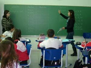 Escola Cláudio Gomes, em Vinhedo, que participou da olimpíada no ano passado (Foto: OBA/ Divulgação)