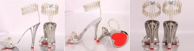 Sapatos Beyoncé (Foto: Reprodução)