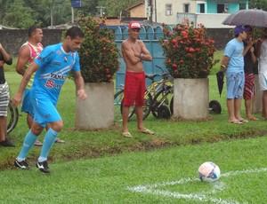 Eduardo Ramos treinou normalmente e deve ser titular no Re-Pa (Foto: Pedro Cruz)