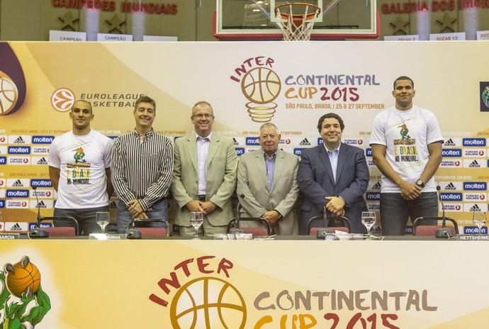 Coletiva Copa Intercontinental  (Foto: Caio Casagrande / Bauru Basket)