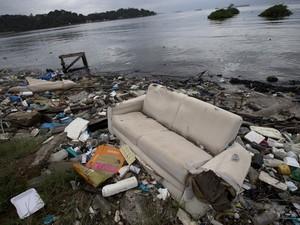 Baia de Guanabara (Foto: Silvia Izquierdo/AP)