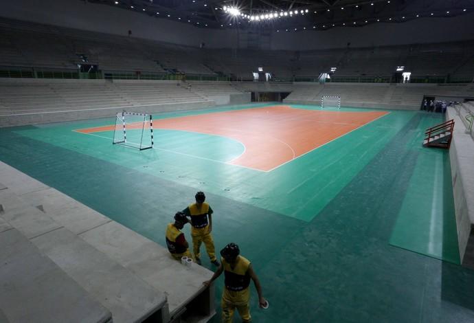 Arena do Futuro handebol Olimpíadas Rio 2016 (Foto: Beth Santos)