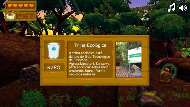 jogo-online-embrapa (Foto: Divulgação)