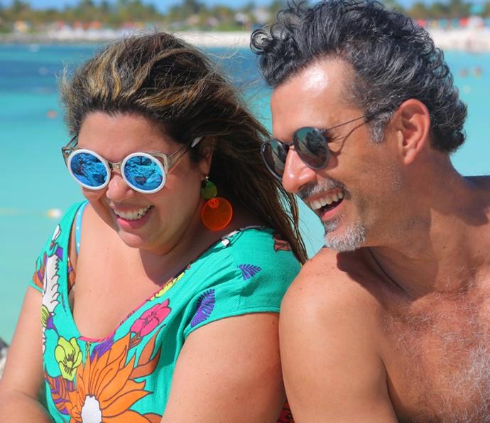 Convidados do Estrelas no Disney Cruise Line (Foto: Thiago Fontolan/Gshow)