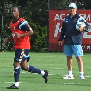 Arouca Treino Palmeiras (Foto: Rodrigo Faber)