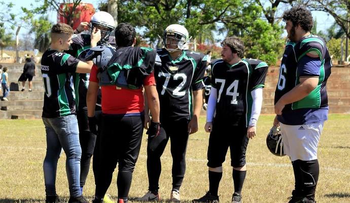 Alligators realiza seletivas de jovens talentos do futebol americano (Foto: Leonardo Prioli de Souza/ Divulgação Alligators)