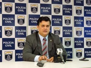 Diretor de polícia especializada de Pernambuco, Joselito Kerhle. (Foto: Marina Barbosa / G1)