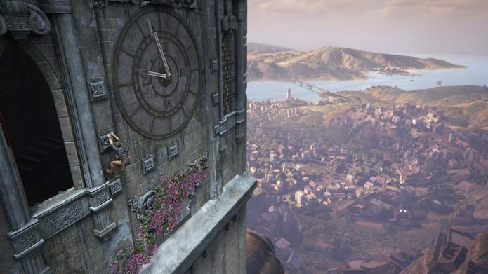 Uncharted 4 chega com gráficos incríveis e piadinhas espalhadas pelo game (Foto: Divulgação/Naughty Dog)