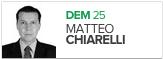 Matteo Chiarelli, DEM, candidato de Pelotas (Foto: Arte G1)