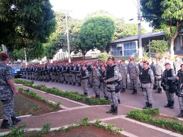 Governador Flávio Dino confirmou embarque de homens da Força Nacional (Foto: Reprodução/Twitter/Flávio Dino)