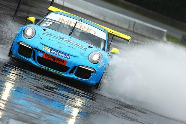 Porsche GT3 Cup do piloto Rodrigo Baptista. (Foto: Divulgação/Luca Bassani)