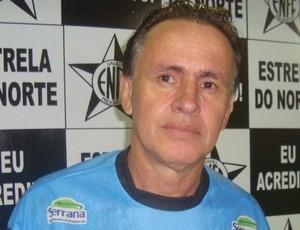 Wagner Oliveira, técnico do Estrela do Norte (Foto: Divulgação/Estrela do Norte)