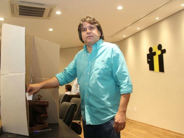 Eleição Assomasul, Pedro Caravina (PSDB) (Foto: Edson Ribeiro / Assomasul)