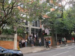 Colégio Bandeirantes, saia (Foto: Paulo Guilherme/G1)