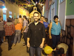 João Paulo já veio para o São de Campina Grande seis vezes (Foto: Walysson Mello/G1)