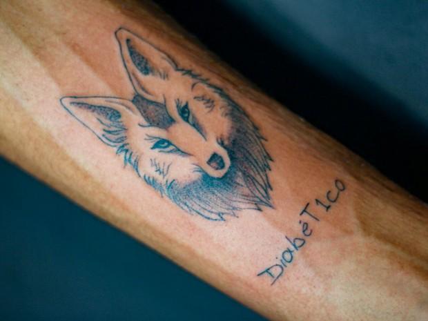 Tattoo do Bem (Foto: Livea Viana/Arquivo Pessoal)
