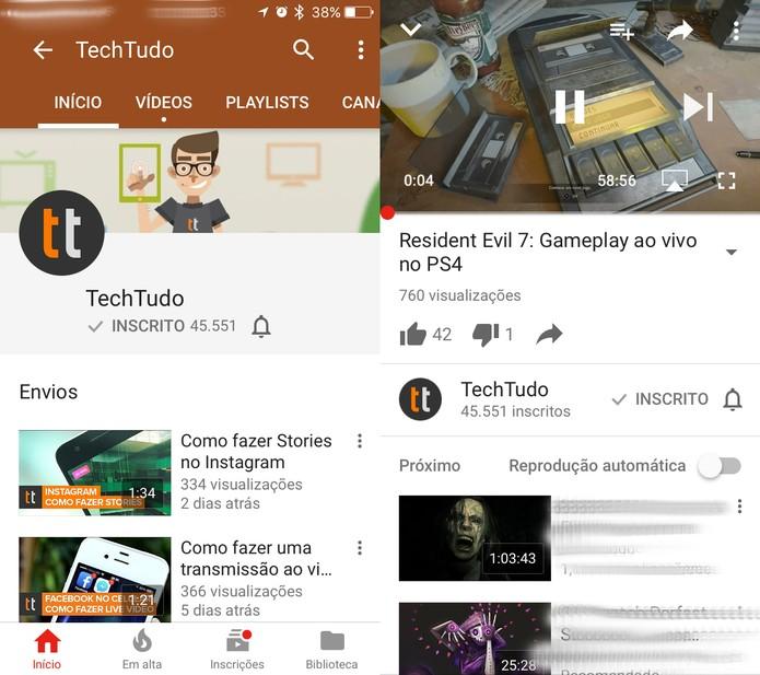 Como adiantar ou voltar um vídeo no YouTube para celular (Foto: Reprodução/Felipe Vinha)