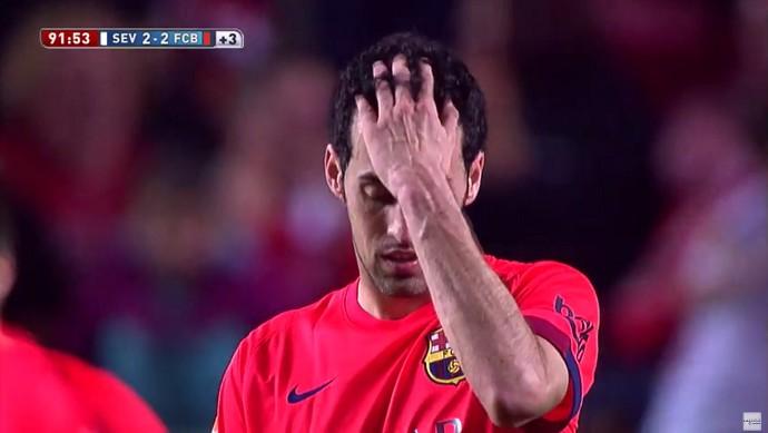 Reações frame Barcelona Sevilla