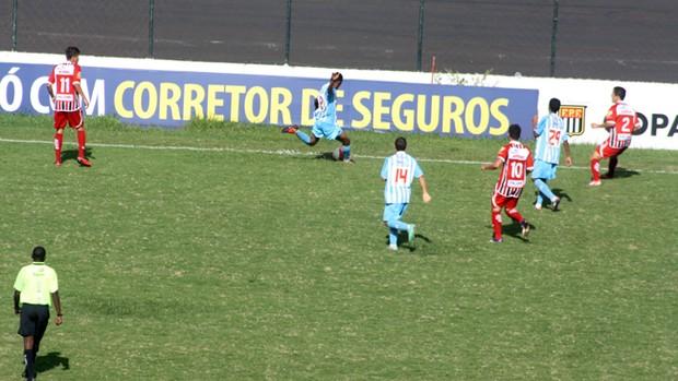 Botafogo x Paysandu - Copa SP (Foto: Cleber Akamine / globoesporte.com)