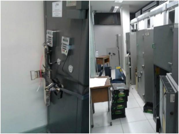 Dois bancos são assaltados em Independência, no interior do Ceará (Foto: Arquivo Pessoal)