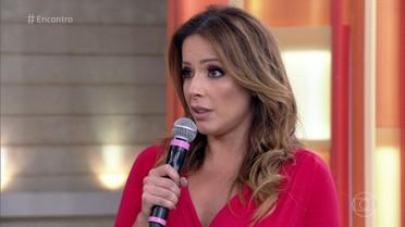 Renata Dominguez teve síndrome do pânico