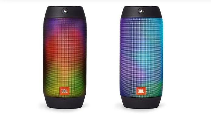 Caixa de som Pulse 2 oferece iluminação em LED (Foto: Divulgação/JBL)